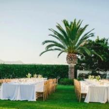 Marbella Weddings - Table set up 2