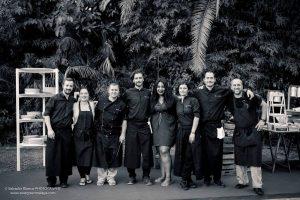Catering team in Spain