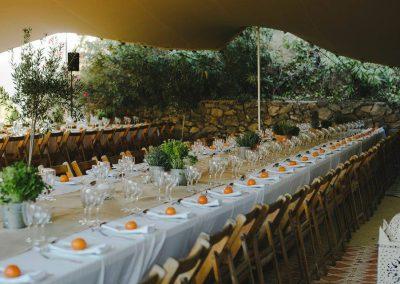 rustic wedding tables Spain