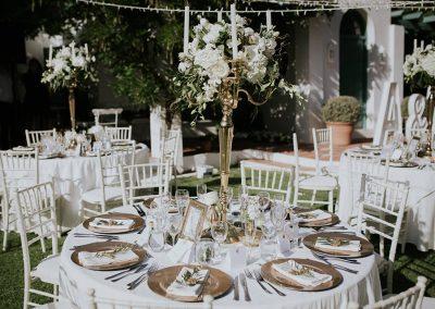 gold luxury wedding Spain