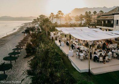 beach wedding venue Marbella