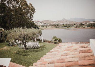 lake wedding villa Spain