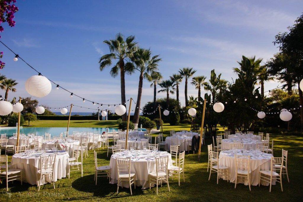 wedding private villa Spain