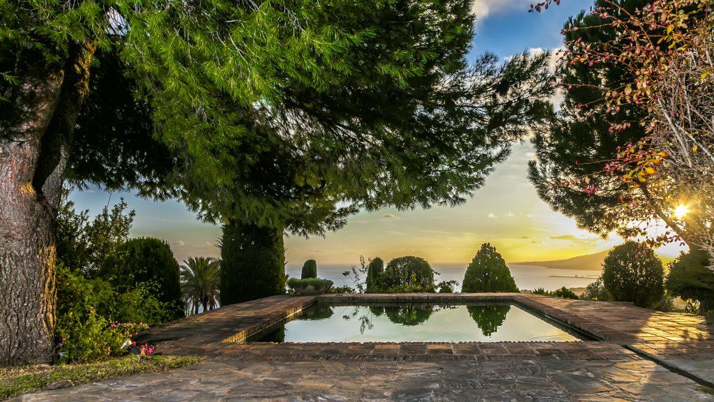 Malaga wedding venue villa